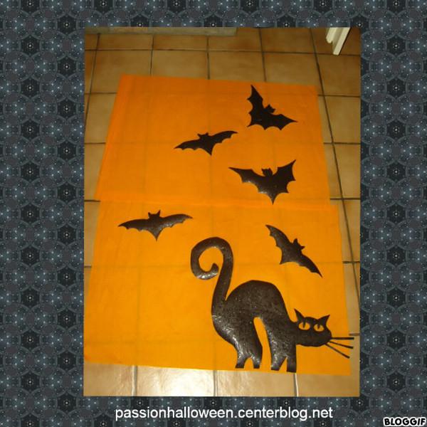 D corations pour fen tres for Decoration fenetre pour halloween