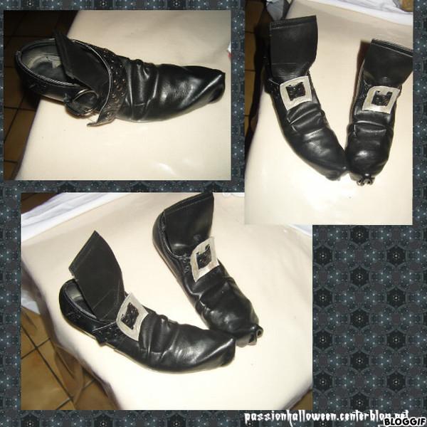 Montage de la chaussure sorcière