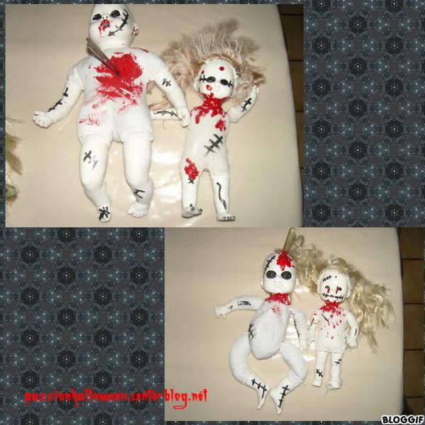 Bébés et poupées de l'horreur