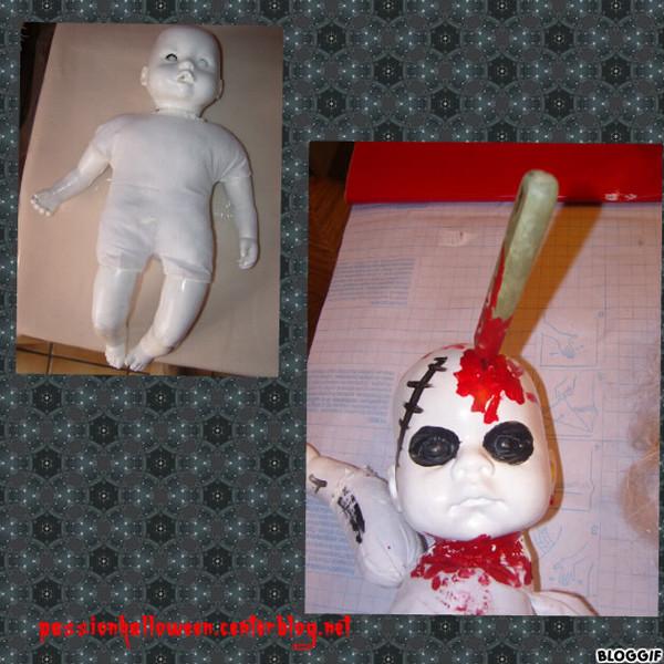 Fabrication de bébés et poupées de l'horreur